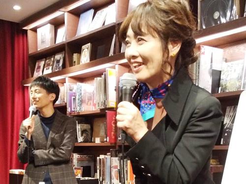 梅田蔦屋書店 羽賀ヒカル氏とトークショー
